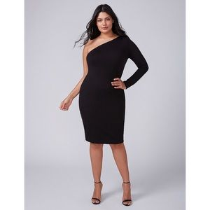 NWT Lane Bryant One Shoulder Dress Size 20